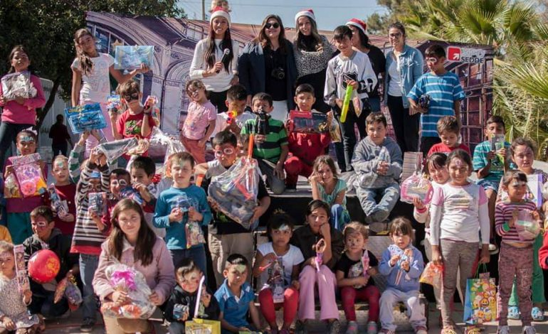 Recaudación de juguetes para los niños de la comunidad de San Miguelito, Ags.